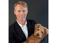 Dr. Patrick Mahaney helps dogs with cancer.