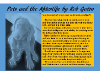 Rob has written about his intriguing experiences in the book Pets and the Afterlife.