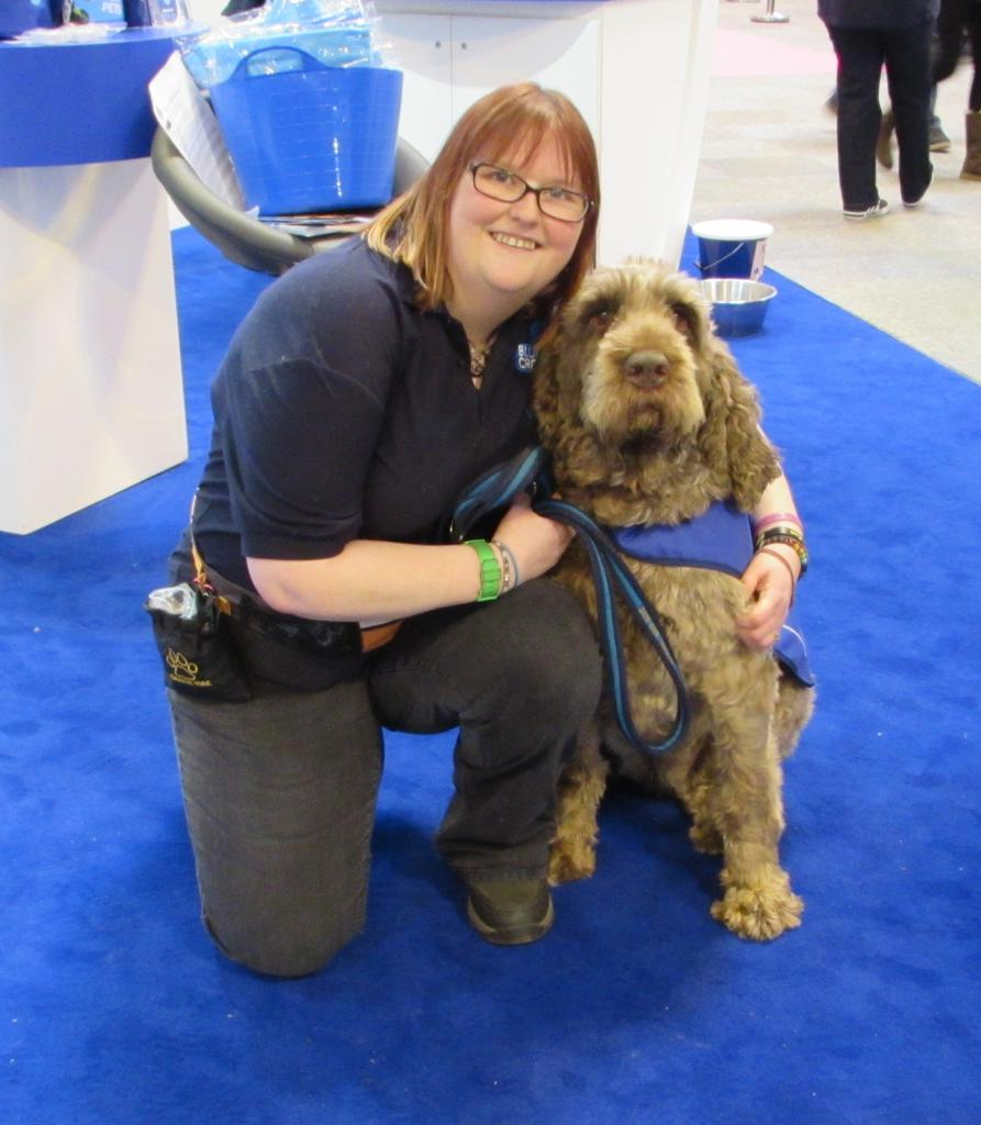 Wendy Johnson is an educational speaker for The Blue Cross. Her lovely dog Gracie is an Italian Spinone. Tags: crufts Italian Spinone The Blue Cross