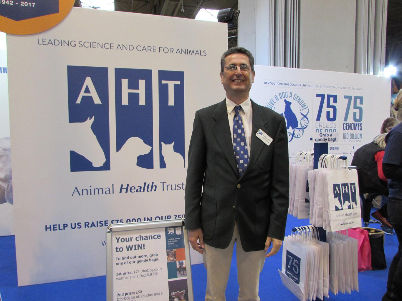 Dr. Mark Vaudin is the Chief Executive of the AHT. Tags: AHT Animal Health Trust charity