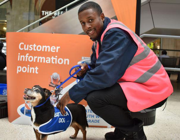 Battersea Dogs & Cats Home has today sent two adorable Jack Russell Terriers on a mission: to help make commuters at London Waterloo smile during the August engineering works. Tags: Battersea Dogs & Cats Home Jack  Russell Terrier London senior dogs terriers Waterloo