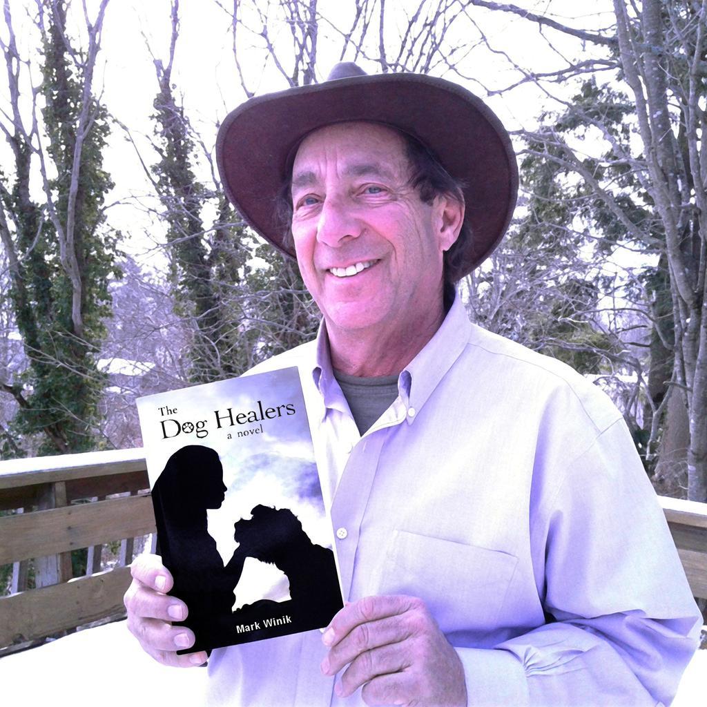 Mark Winik, author of The Dog Healers. Tags: author Mark Winik novel the dog healers