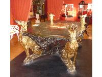This beautiful table is in the Museum of Steel in Ironbridge, Shropshire, UK.