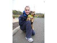 Injury prevents Commonwealth Games participation: dog walking to help recovery