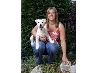 A dog massage therapist from Kent will also be using her feet to help her furry clients this weekend by running the Virgin London Marathon for Battersea Dogs &amp; Cats Home.<br /> Maidstone resident Lizzie Harrison will tackle the Capital's iconic 26-mile race on Sunday in a bid to raise thousands of pounds for the much-loved animal charity.
