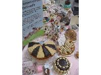 Some of the tempting goodies on offer at The Pampered Pets Patisserie - and all for dogs!